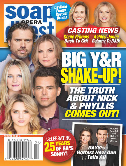 Soap Opera Digest August 12, 2018 00:00