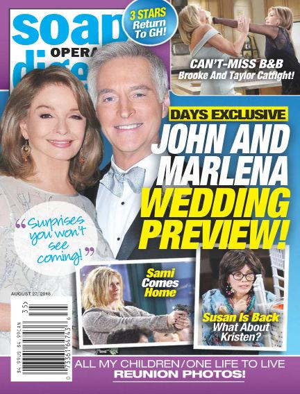 Soap Opera Digest August 19, 2018 00:00