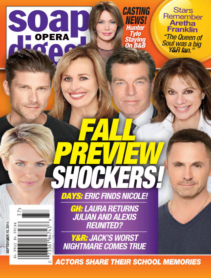 Soap Opera Digest September 02, 2018 00:00