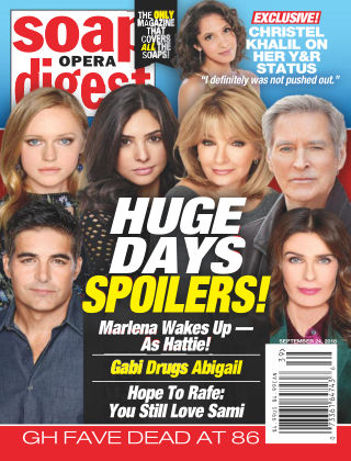 Soap Opera Digest Sep 24 2018