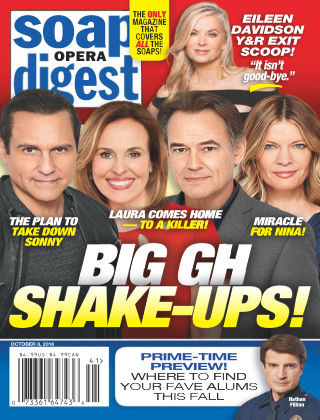 Soap Opera Digest Oct 8 2018