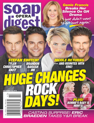 Soap Opera Digest Oct 15 2018