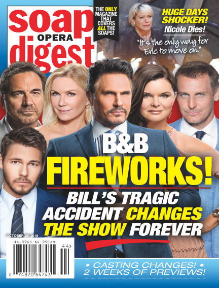 Soap Opera Digest October 21, 2018 00:00