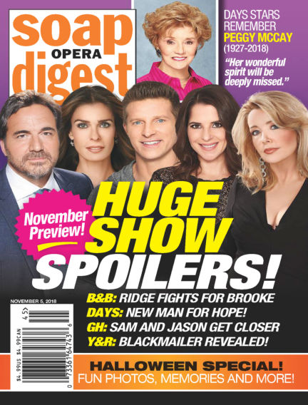 Soap Opera Digest October 28, 2018 00:00