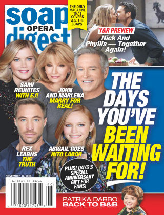Soap Opera Digest Nov 12 2018