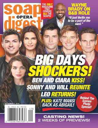 Soap Opera Digest Dec 3 2018