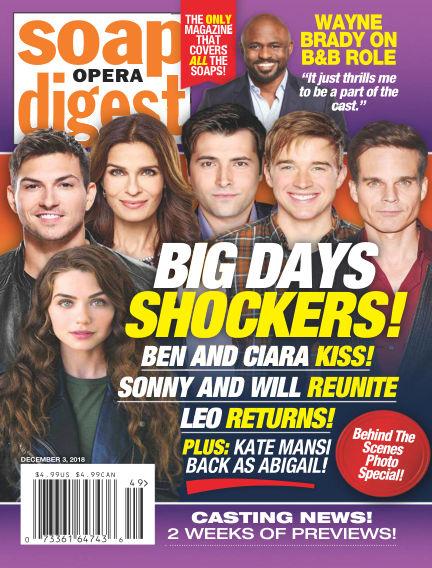 Soap Opera Digest November 25, 2018 00:00