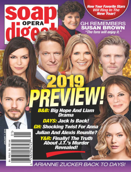 Soap Opera Digest December 30, 2018 00:00