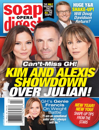 Soap Opera Digest Jan 14 2019