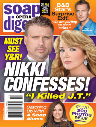 Soap Opera Digest Jan 21 2019