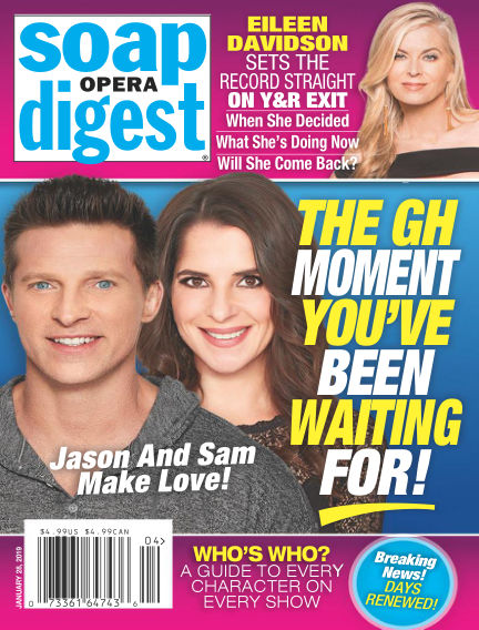Soap Opera Digest January 20, 2019 00:00
