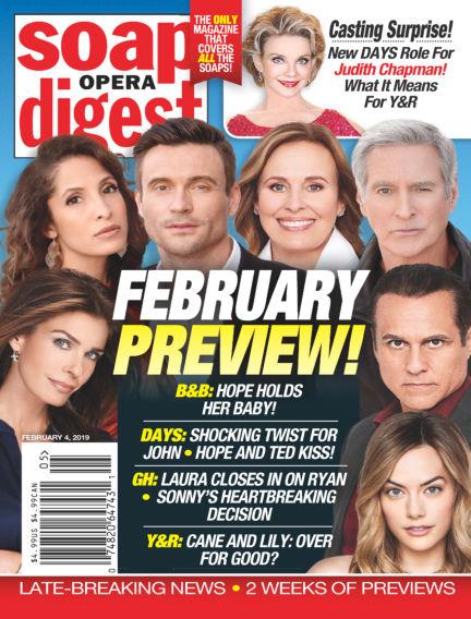Soap Opera Digest January 27, 2019 00:00