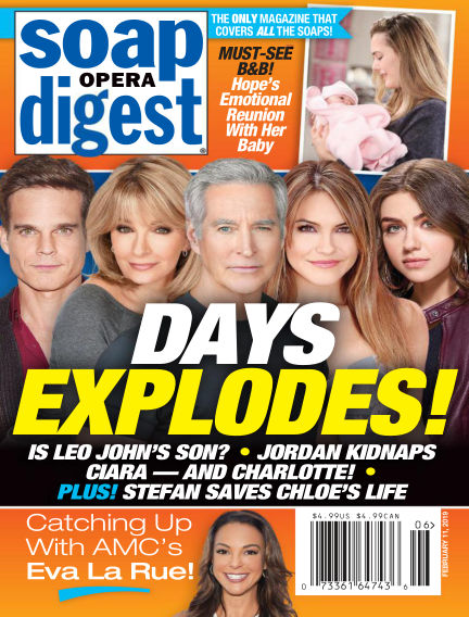 Soap Opera Digest February 03, 2019 00:00