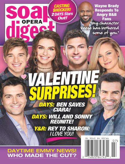 Soap Opera Digest February 10, 2019 00:00