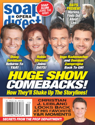 Soap Opera Digest Mar 11 2019