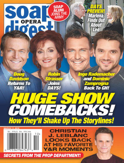 Soap Opera Digest March 03, 2019 00:00