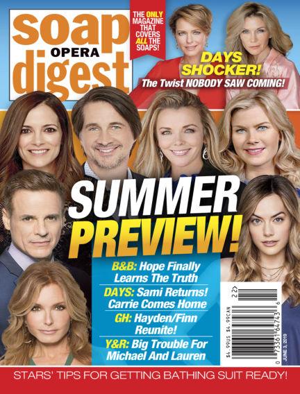 Soap Opera Digest May 26, 2019 00:00