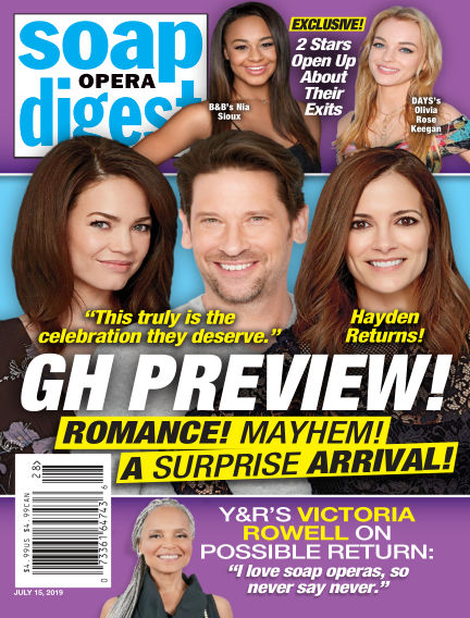 Soap Opera Digest July 07, 2019 00:00