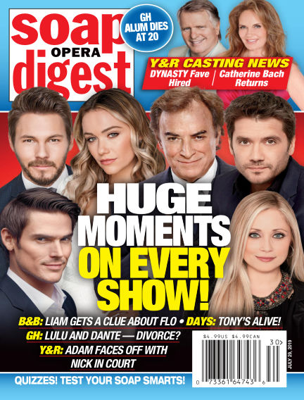 Soap Opera Digest July 21, 2019 00:00