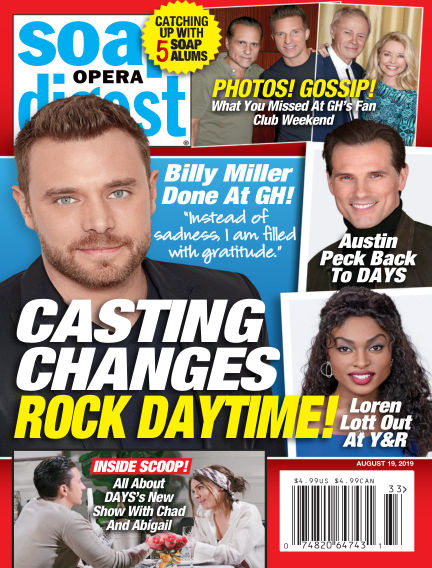 Soap Opera Digest August 11, 2019 00:00