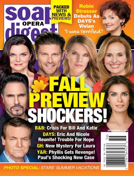Soap Opera Digest September 01, 2019 00:00