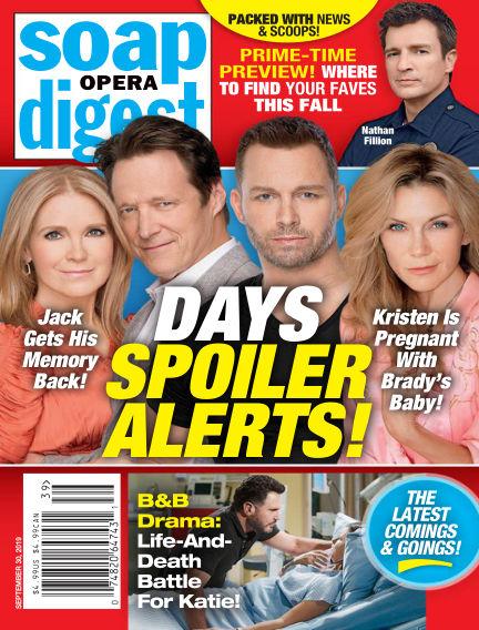 Soap Opera Digest September 22, 2019 00:00