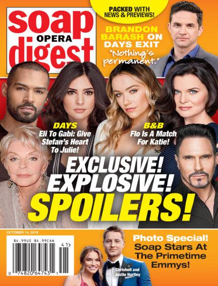 Soap Opera Digest October 06, 2019 00:00