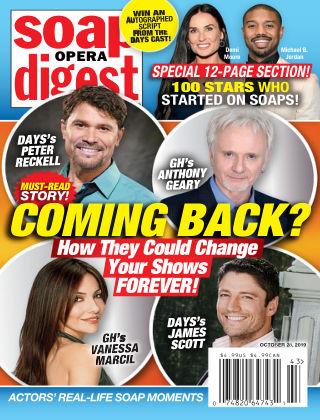 Soap Opera Digest Oct 28 2019