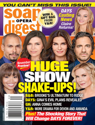 Soap Opera Digest Nov 4 2019