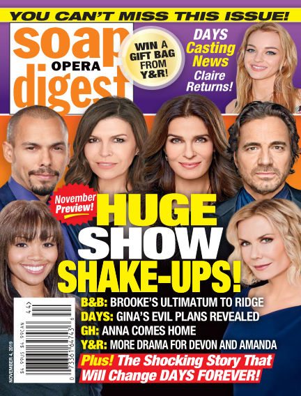 Soap Opera Digest October 27, 2019 00:00