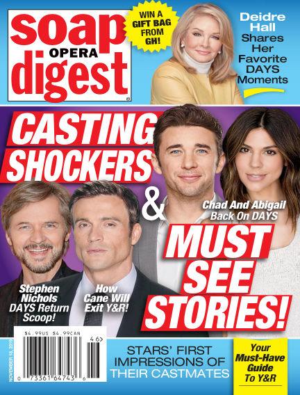 Soap Opera Digest November 10, 2019 00:00