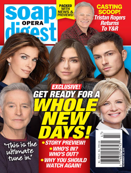 Soap Opera Digest November 17, 2019 00:00
