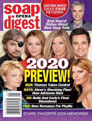 Soap Opera Digest Jan 6 2020