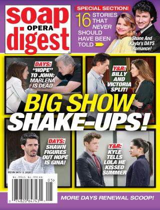 Soap Opera Digest Feb 3 2020