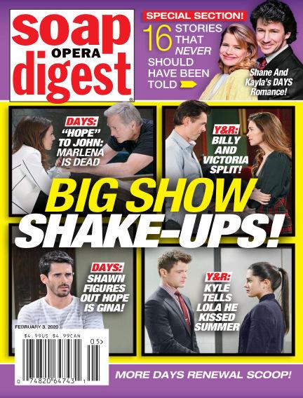 Soap Opera Digest January 25, 2020 00:00