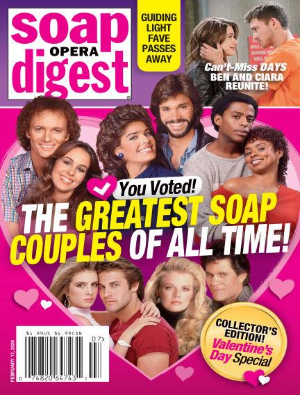 Soap Opera Digest February 08, 2020 00:00