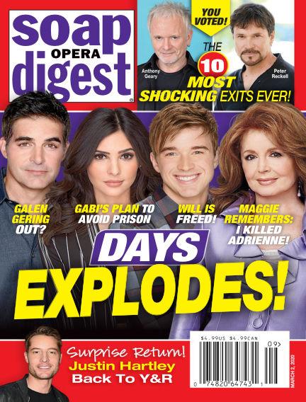 Soap Opera Digest February 23, 2020 00:00