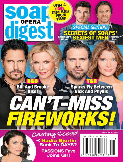 Soap Opera Digest March 07, 2020 00:00