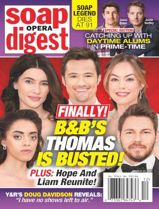 Soap Opera Digest Mar 23 2020