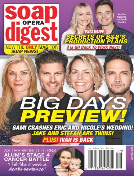 Soap Opera Digest July 11, 2020 00:00