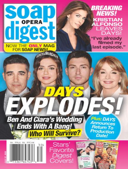 Soap Opera Digest July 18, 2020 00:00