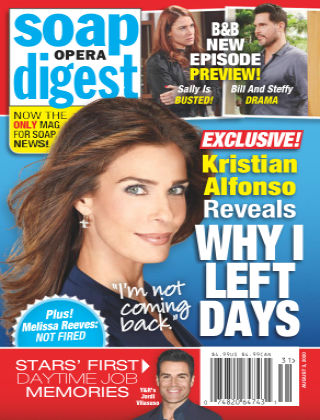 Soap Opera Digest 3rd August 2020