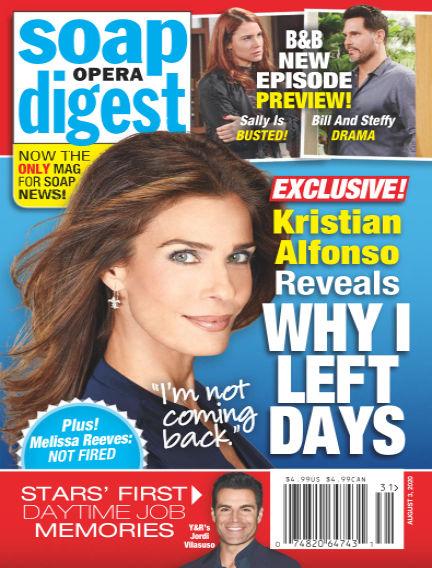 Soap Opera Digest July 25, 2020 00:00