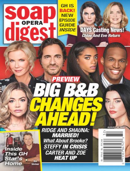 Soap Opera Digest August 01, 2020 00:00