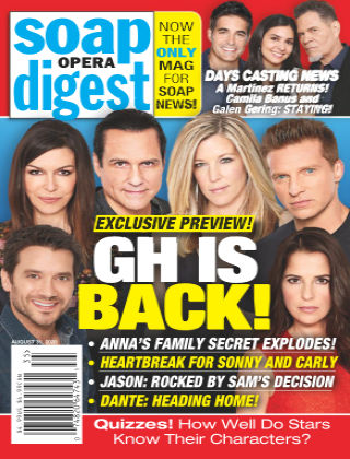 Soap Opera Digest August 31 2020
