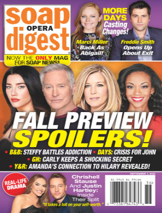 Soap Opera Digest September 7th 2020