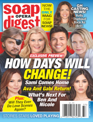 Soap Opera Digest September 14 2020