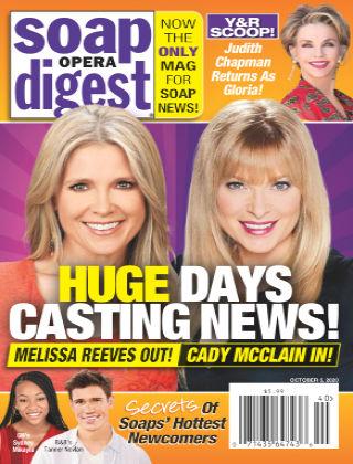 Soap Opera Digest October 5th 2020