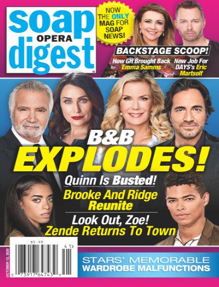 Soap Opera Digest October 03, 2020 00:00