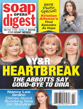 Soap Opera Digest October 19th 2020